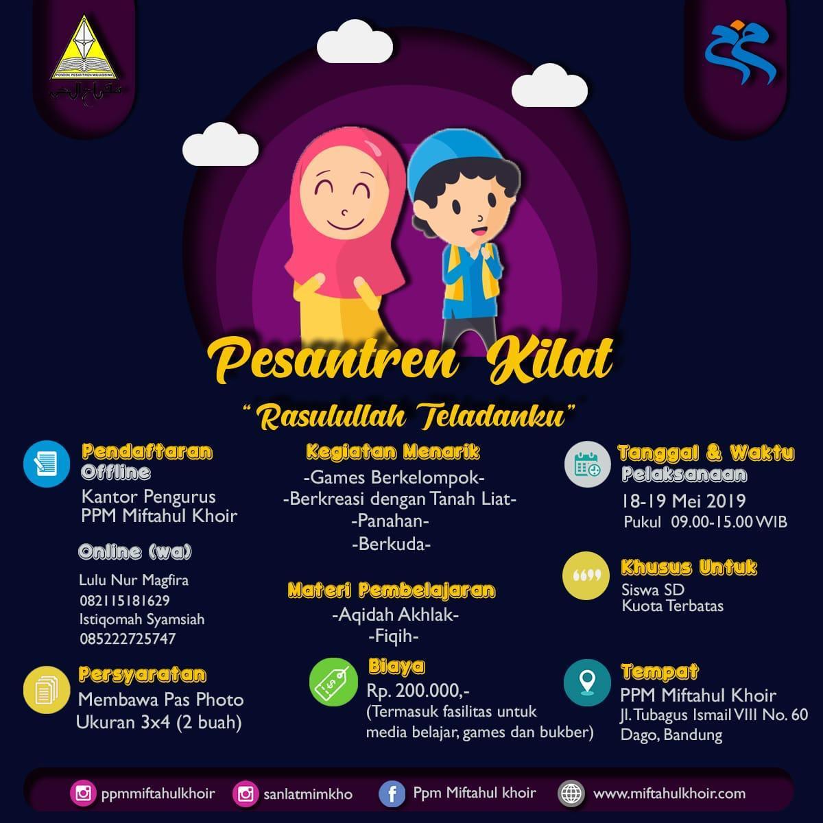 Pesantren Kilat Mifkho Ramadan1440 H